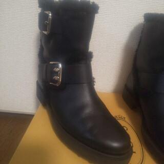 トッズ(TOD'S)のTOD`S  36.5  ブーツ(ブーツ)