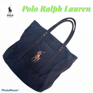 ポロラルフローレン(POLO RALPH LAUREN)のSALE、POLO Ralph Lauren 刺繍ロゴ トートバッグ(トートバッグ)