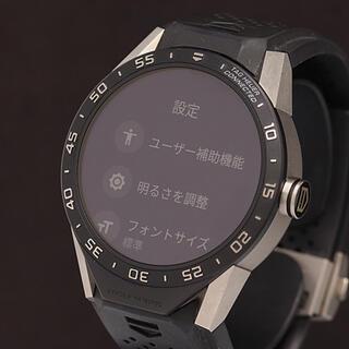 タグホイヤー(TAG Heuer)のタグホイヤー コネクテッド45 スマートウォッチ(腕時計(デジタル))