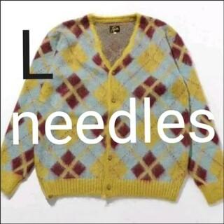 Needles - 21aw needles モヘアカーディガン Lサイズ  イエロー