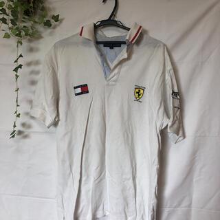 トミーヒルフィガー(TOMMY HILFIGER)のフェラーリ トミーヒルフィガー  ポロシャツ(ポロシャツ)
