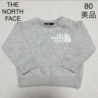 THE NORTH FACE - 【美品】THE NORTH FACE トレーナー 80