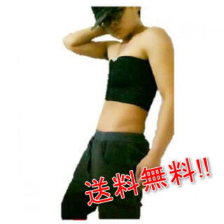 コスプレ ナベシャツ 男装 さらしタイプ メッシュ ブラック XL(コスプレ用インナー)