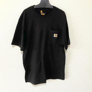 カーハート(carhartt)のcarhartt カーハート ポケットTシャツ ブラック メンズ レディース(Tシャツ/カットソー(半袖/袖なし))