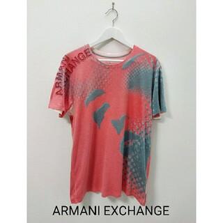 ARMANI EXCHANGE - ARMANI EXCHANGE 赤 Tシャツ