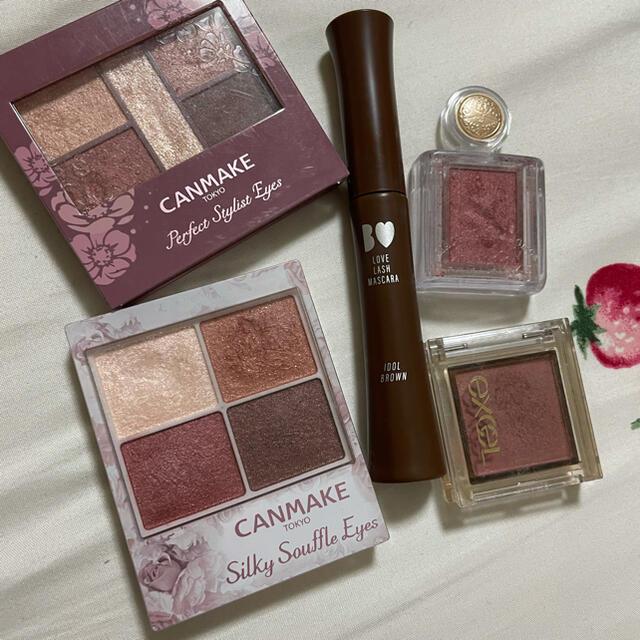 CANMAKE(キャンメイク)のコスメまとめ売り コスメ/美容のベースメイク/化粧品(アイシャドウ)の商品写真