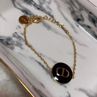 Dior - ディオール CD モチーフ ブレスレット BLACK