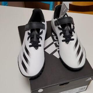 新品  adidas 子供用 21センチ サッカー シューズ トレシュー
