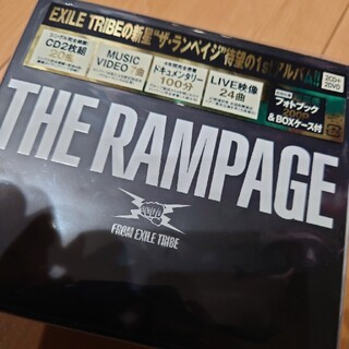 ザランページ(THE RAMPAGE)の初回限定盤THE RAMPAGE(DVD2枚付)(ポップス/ロック(邦楽))