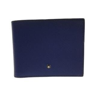 モンブラン(MONTBLANC)のモンブラン Montblanc 二つ折り財布    メンズ(折り財布)