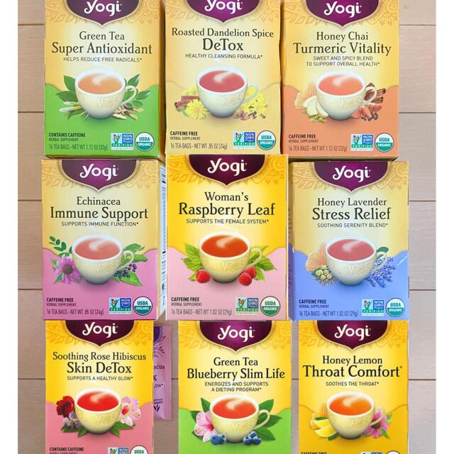 KALDI(カルディ)のヨギティー 9種類✖︎2個詰め合わせ yogiティー 食品/飲料/酒の飲料(茶)の商品写真