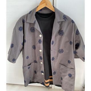 Needles - needles シャツ+ chacoal tokyo Tシャツ セット販売