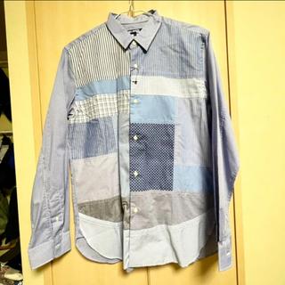 ジュンヤワタナベコムデギャルソン(JUNYA WATANABE COMME des GARCONS)のJUNYA WATANABE MAN パッチワークシャツ L(シャツ)