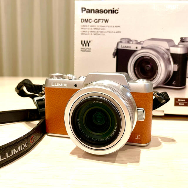 Panasonic(パナソニック)のももち0501様専用LUMIX G Panasonic DMC-GF7W  スマホ/家電/カメラのカメラ(ミラーレス一眼)の商品写真