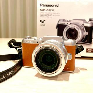 Panasonic - LUMIX G Panasonic DMC-GF7W ミラーレス一眼