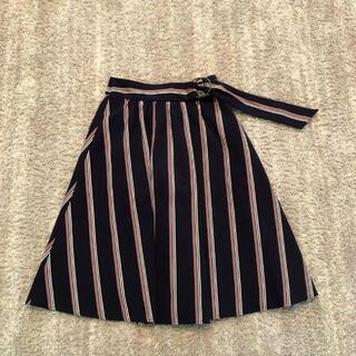 マジェスティックレゴン(MAJESTIC LEGON)のベルト付きスカート (ロングスカート)