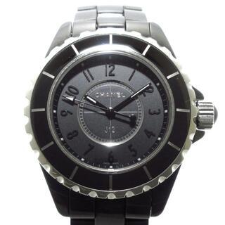 CHANEL - シャネル 腕時計 J12 H3828 レディース 黒