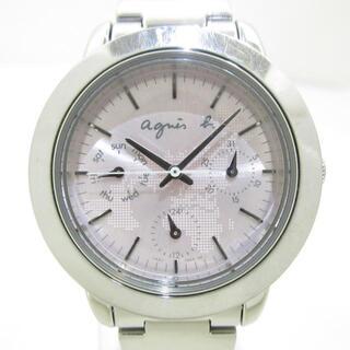 アニエスベー(agnes b.)のagnes b(アニエスベー) 腕時計 - V33J-0ALA(腕時計)