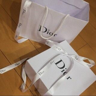 ディオール(Dior)のDior ディオールの空箱と袋とリボン🎀(その他)