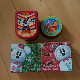 ディズニー(Disney)の東京ディズニーランドお菓子の空缶(小物入れ)