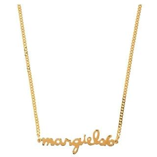 マルタンマルジェラ(Maison Martin Margiela)のMM6メゾンマルジェラ/ゴールド/ロゴ/ネックレス/(ネックレス)