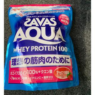 ザバス(SAVAS)のザバスSAVASアクア ホエイプロテイン100 アセロラ風味(40食分)840g(プロテイン)