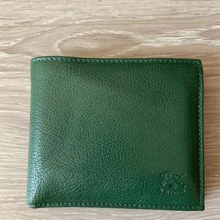 IL BISONTE - イルビゾンテ グリーン 二つ折り財布