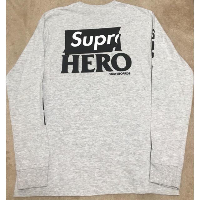 Supreme(シュプリーム)のシュプリーム アンタイヒーローロンt メンズのトップス(Tシャツ/カットソー(半袖/袖なし))の商品写真