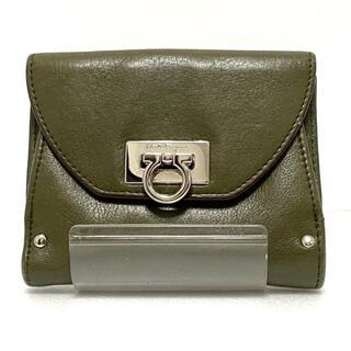 サルヴァトーレフェラガモ(Salvatore Ferragamo)のサルバトーレフェラガモ Wホック財布(財布)