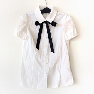 ルネ(René)のルネ 半袖シャツブラウス サイズ36 S 白(シャツ/ブラウス(半袖/袖なし))