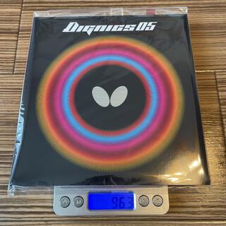 バタフライ(BUTTERFLY)のbutterfly(タマス) ディグニクス05 トクアツ(2.1mm) 赤(卓球)