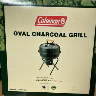 Coleman - 新品 未使用 Coleman オーバルチャコールグリル コールマン BBQ