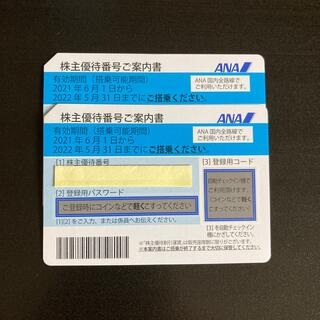 ANA(全日本空輸) - 全日空 株主優待券 2枚