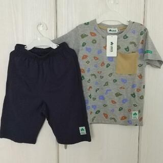 ロゴス(LOGOS)の新品☆120㎝ LOGOS セットアップ(Tシャツ/カットソー)