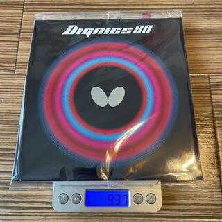 バタフライ(BUTTERFLY)のbutterfly(タマス) ディグニクス80 トクアツ(2.1mm) 赤(卓球)