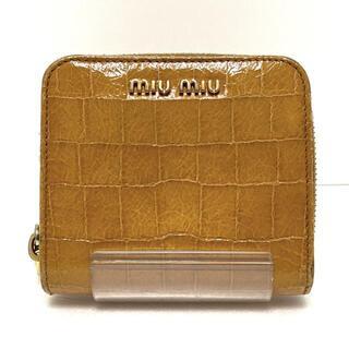 miumiu - ミュウミュウ 2つ折り財布 - 5M0522