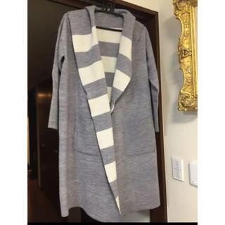 DOUBLE STANDARD CLOTHING - ダブルスタンダードクロージング   リバーシブルニットコート