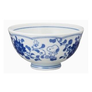 スヌーピー(SNOOPY)のスヌーピー お茶碗 ★ 藍唐草(食器)