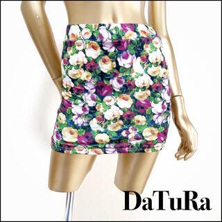 ダチュラ(DaTuRa)のDaTuRa フラワー ミニ スカート*リエンダ リゼクシー デイライルノアール(ミニスカート)