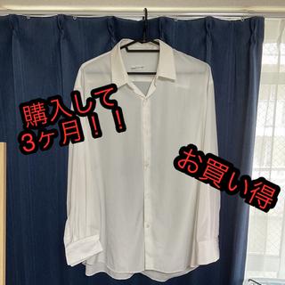 ラッドミュージシャン(LAD MUSICIAN)のlad musician ラッドミュージシャン シャツ 21ss 白シャツ(シャツ)