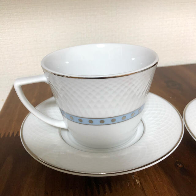 NIKKO(ニッコー)のコーヒーカップ2つ インテリア/住まい/日用品のキッチン/食器(食器)の商品写真