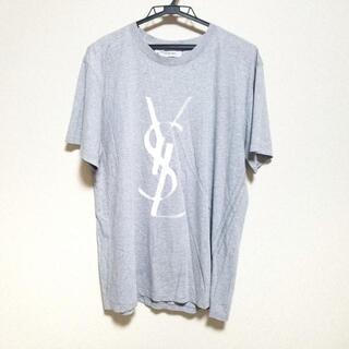 サンローラン(Saint Laurent)のイヴサンローランリヴゴーシュ 半袖Tシャツ(Tシャツ/カットソー(半袖/袖なし))