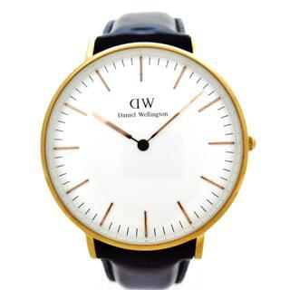 ダニエルウェリントン(Daniel Wellington)のダニエルウェリントン 腕時計 - B36R2 白(その他)