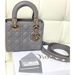 Christian Dior - lady dior グレー 美品