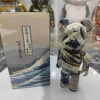 BE@RBRICK 葛飾北斎「神奈川沖浪裏」 400% 25周年 ベアブリック(ぬいぐるみ)