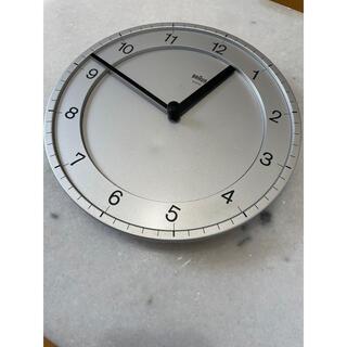 ブラウン(BRAUN)のBRAUN 壁掛け時計 4861 ヴィンテージ ディーターラムス(掛時計/柱時計)