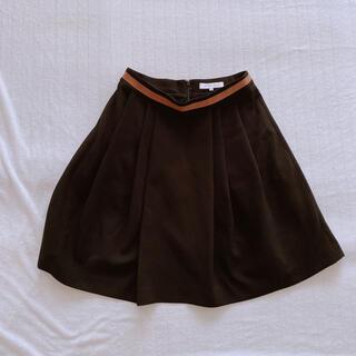 エムプルミエ(M-premier)のM-PREMIER 新品 黒スカート(ひざ丈スカート)