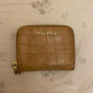 miumiu - miumiu ミニ財布 コインケース