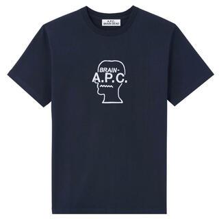 A.P.C - 新品A.P.C.アーペーセー×BRAIN DEAD コラボTシャツ ネイビーS♪
