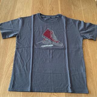 CONVERSE - CONVERS Tシャツ チャコールグレーM